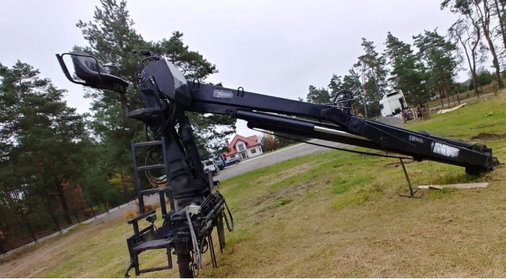 Кран-маніпулятор HIAB 140K