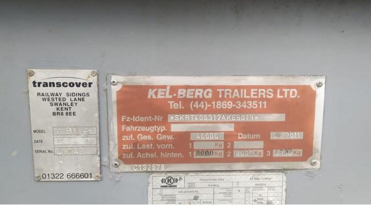 Напівпричіп самоскид KELBERG T-BULLET 2011
